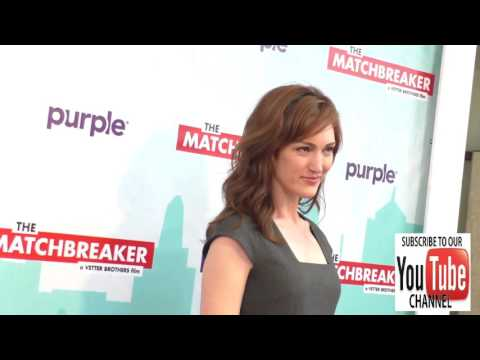 Kristen Rakes outside The Matchbreaker Premiere at ArcLight Cinemas Cinerama Dome in Hollywood