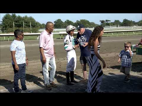 video thumbnail for MONMOUTH PARK 8-31-19 RACE 8