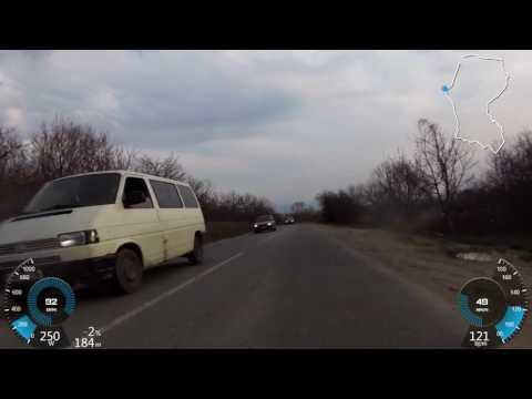 Traseu bicicleta de sosea Baia Mare - Coas