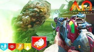 """""""ALPHA OMEGA"""" DLC3 ZOMBIES EARLY GAMEPLAY STREAM!"""