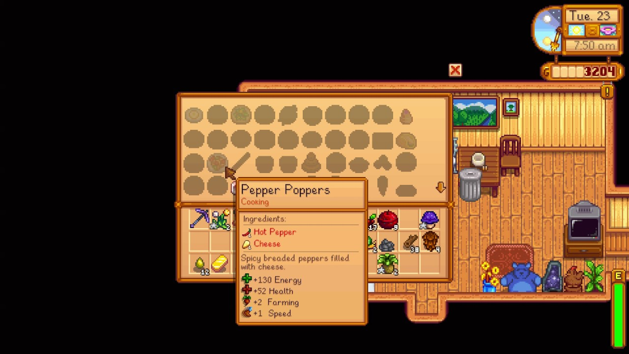 How to see your cooking recipes stardew valley youtube how to see your cooking recipes stardew valley forumfinder Images