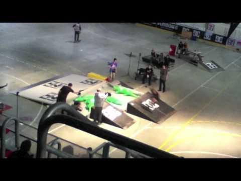 Oslo games 2012 - skateboarding contest