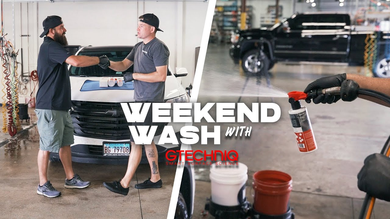 Weekend Wash | First Time Using Gtechniq EASY COAT | Let It Eat!