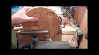 Woodturning Shop Made Jig For Off-center Turning