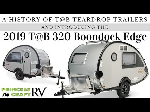 Evolution of TAB Teardrop Trailers to the 2019 Boondock EDGE