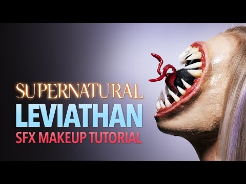 Supernatural Leviathan makeup tutorial