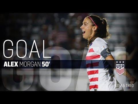 WNT vs. Trinidad & Tobago: Alex Morgan Second Goal - Oct. 10, 2018