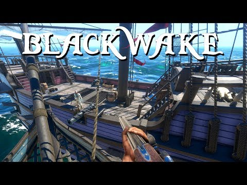 CANNON BARRAGE and PIRATE ATTACKS! - Blackwake Gameplay - Game like Sea of Thieves