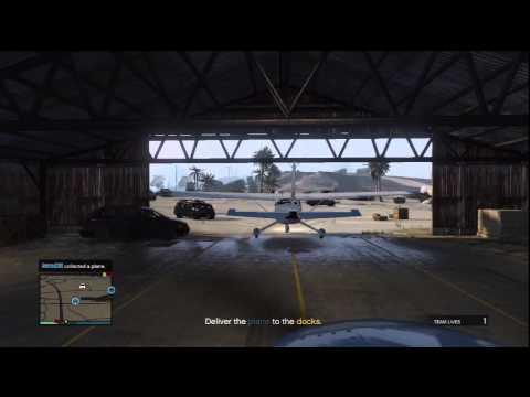 GTA V ALFA - Landing Gear Ex Gus Ammo Porthole