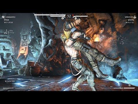 Deus (Kano - Cybernetic/Commando) vs pooha (Briggs Family - Full Auto/Wrestler) ft 10