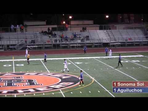 Sonoma County Sol Soccer vs CD Aguiluchos July 18, 2015