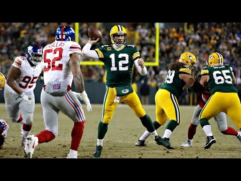 NFL Playoffs 2017: Aaron Rodgers DESTROYS Giants  - Reaction & Analysis!