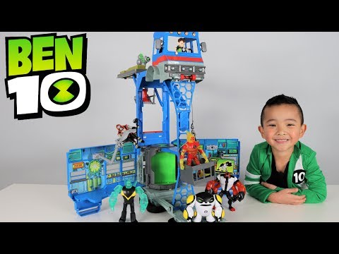 Ben 10 Toys Transforming Alien Playset Rustbucket Unboxing And Playing With Ckn Toys