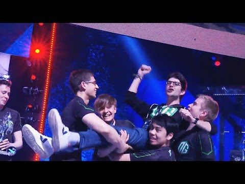 4th TIME MAJOR CHAMPIONS OG WINNERS CEREMONY KIEV MAJOR