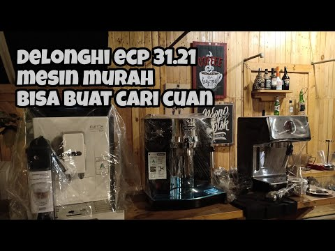 Review Espresso Mesin DeLonghi type ECP31.21, mesin Espresso Harga murah