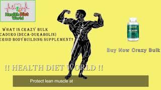 Crazy Bulk Decaduro Review   Health Diet World