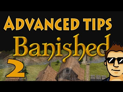 Let's Play Banished - Advanced Tips 2  Mines/Farming/Trading (City-builder Strategy Game)
