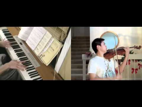 Disney - Aladdin - A Whole New World (violin, piano) - FT. Josh Chiu