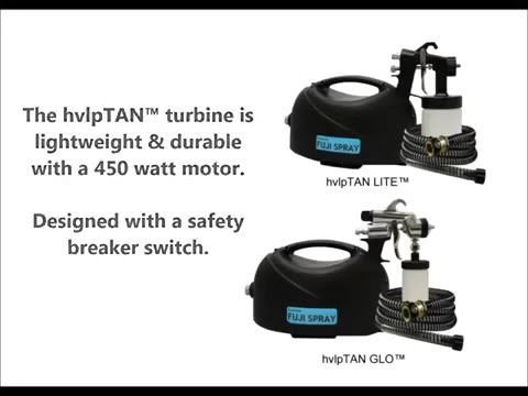 Fuji sprayTAN Introducing hvlpTAN