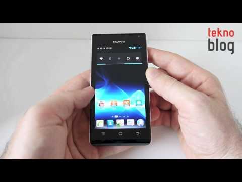 Huawei Ascend P1 İncelemesi