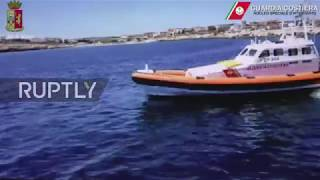 Italy  Coast guard releases footage of migrant rescue ship Iuventa's detention