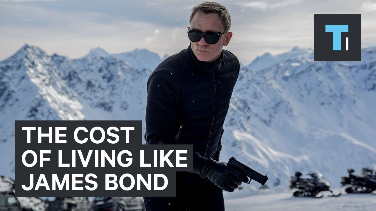 James bond lifestyle