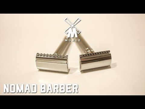 How to Shave with a Double Edge Razor - Featuring Mühle