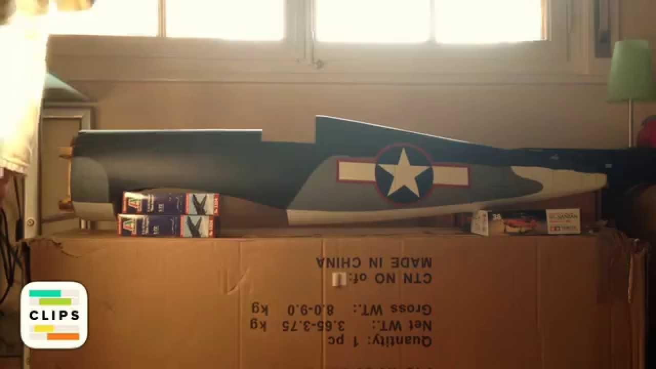 Hangar En Kit Bois unboxing saito fg-21 et f4u-1a corsair de hangar 9