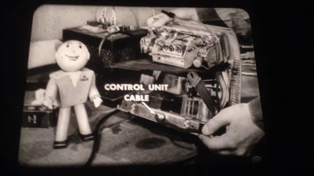 Vintage Car Dealer Training Filmstrip \