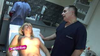 Repeat youtube video Beauty Detective Breast Implants Exam Doctor Violin Petrov
