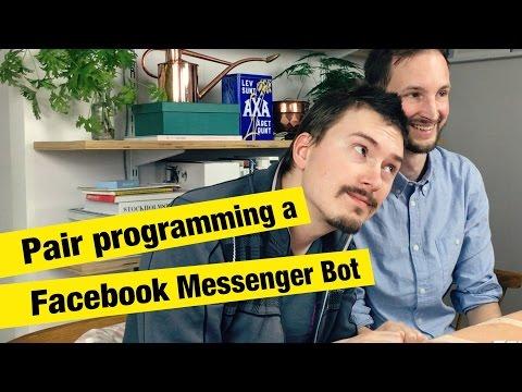 Pair Programming a Facebook Messenger Bot - FunFunFunction #28