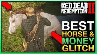Red Dead Redemption 2 Money Glitch W/RDR2 Horse! - BEST Red Dead 2 Money Glitch - RDR2 Glitch