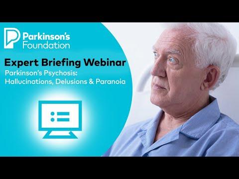 Expert Briefing Webinar: Parkinson's Disease Psychosis: Hallucinations, Delusions & Paranoia