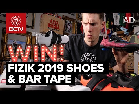 GCN Unboxing: NEW fizik 2019 Cycling Shoes & Bar Tape