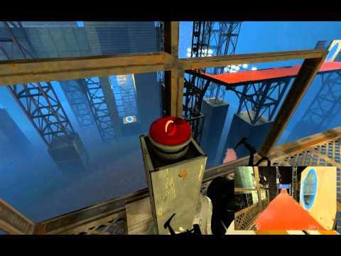 Portal 2 Co-Op Walkthrough - [ Course 5 - Level 6 ]