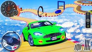 Ramp Car Stunts Racing - Impossible Mega Tracks 3D - Android GamePlay screenshot 5