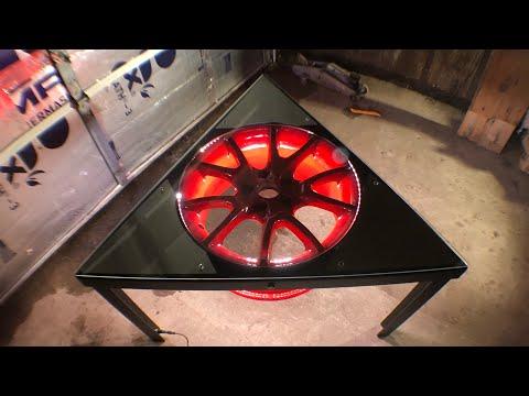 Wheel Coffee Table Build