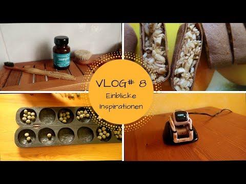 VLOG#8: Küchenritual, Vorräte, Klimmzüge, Anki Cozmo, Musik und Siele