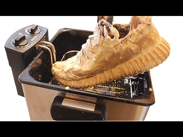 ad251d1da4a Yeezy Boost  Vlogger Deep-Fries His Yeezy 350 Sneakers As A Stunt ...