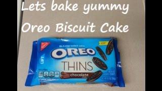 Oreo biscuit cake | Easy & Yummy | Eggless recipe
