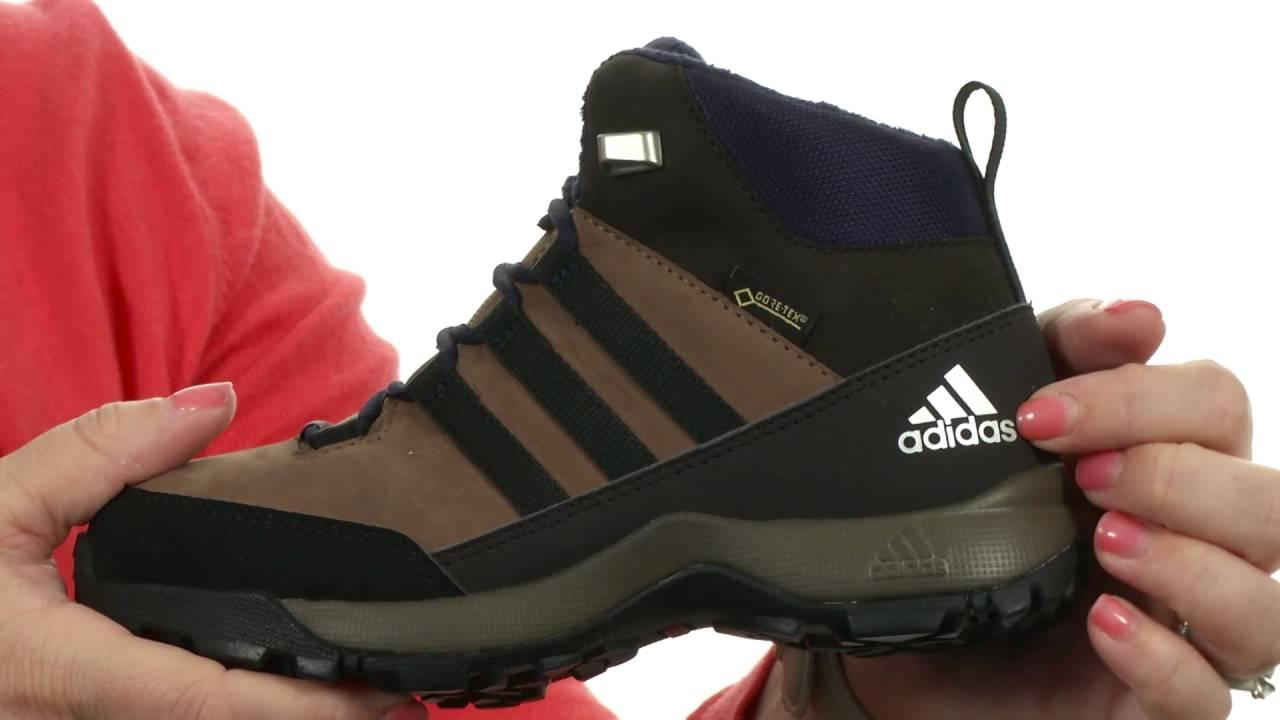 7ac8a384200 adidas Outdoor Kids - CW Winter Hiker Mid GTX Leather (Little Kid/Big Kid)  SKU:8708598