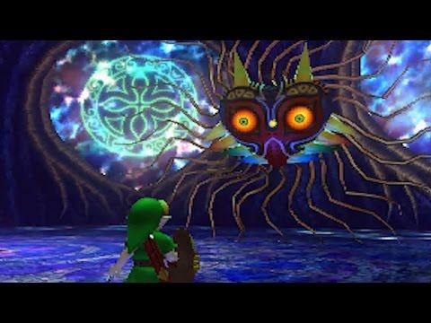 The Legend of Zelda: Majora's Mask 3DS - All Bosses and Mini-Bosses / Final Boss & Ending