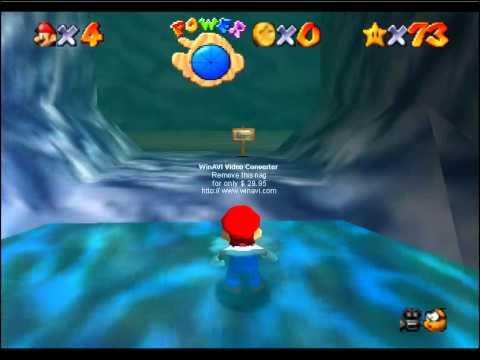 Super Mario 64: El tesoro de la cueva del oceano Uber A Button Challenge (1)