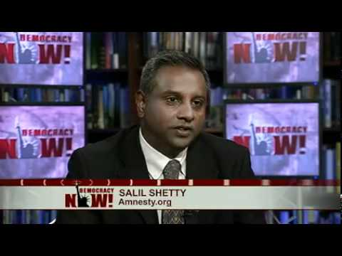 Amnesty's Salil Shetty: Arms Embargo, Human Rights Monitors Needed for Syria Crisis