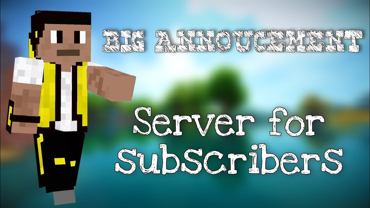 Download 📌 Server for subscribers 🔥 | Minecraft Fans Server | MFS(MR CRAFT FANS SERVER) | Mr Craft