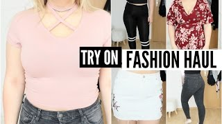 TRY ON FASHION HAUL 2017 - Topshop, Calzedonia, Shein, Romwe &&'