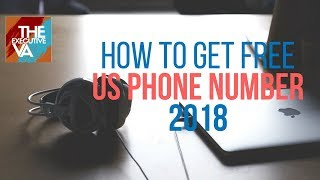 How To Get US Phone Number For Free 2018