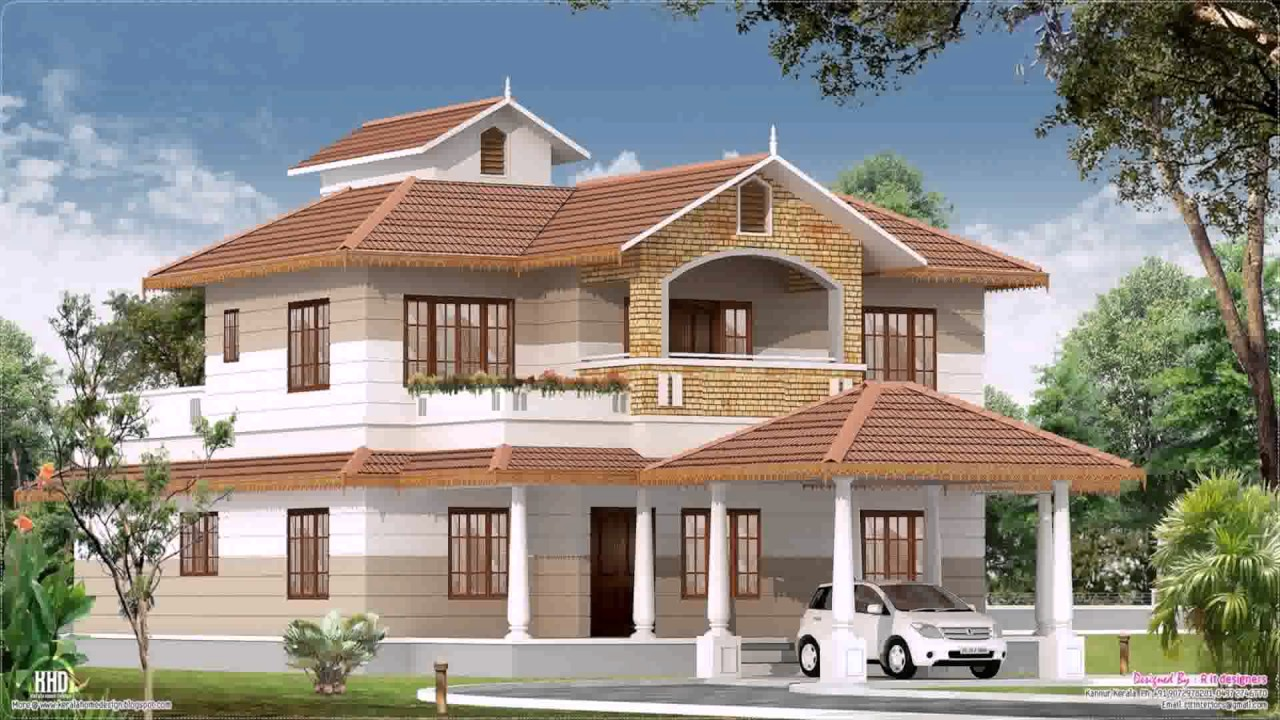 kerala style new house plans youtube