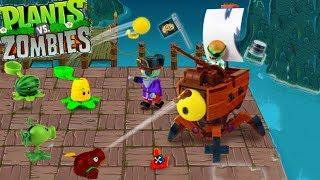 Part 2 - Dr Zomboss Zombot Plank Walker Pirate Seas Plants Vs Zombies PVZ 2 Lego Swashbuckler DIY thumbnail