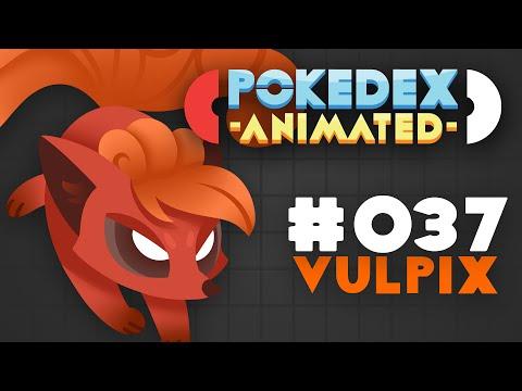 Pokedex Animated - Vulpix